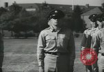 Image of Company E 1st Training Regiment Fort Dix New Jersey USA, 1955, second 60 stock footage video 65675073544