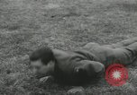 Image of Company E 1st Training Regiment trainees Fort Dix New Jersey USA, 1955, second 17 stock footage video 65675073546