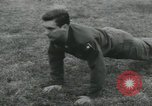 Image of Company E 1st Training Regiment trainees Fort Dix New Jersey USA, 1955, second 18 stock footage video 65675073546