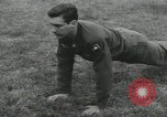 Image of Company E 1st Training Regiment trainees Fort Dix New Jersey USA, 1955, second 19 stock footage video 65675073546