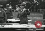 Image of Company E 1st Training Regiment trainees Fort Dix New Jersey USA, 1955, second 21 stock footage video 65675073546