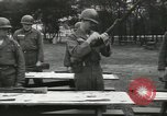 Image of Company E 1st Training Regiment trainees Fort Dix New Jersey USA, 1955, second 23 stock footage video 65675073546