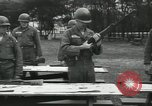 Image of Company E 1st Training Regiment trainees Fort Dix New Jersey USA, 1955, second 25 stock footage video 65675073546