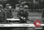 Image of Company E 1st Training Regiment trainees Fort Dix New Jersey USA, 1955, second 26 stock footage video 65675073546