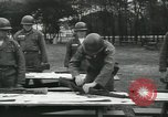 Image of Company E 1st Training Regiment trainees Fort Dix New Jersey USA, 1955, second 28 stock footage video 65675073546