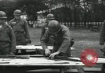 Image of Company E 1st Training Regiment trainees Fort Dix New Jersey USA, 1955, second 29 stock footage video 65675073546