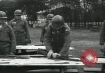 Image of Company E 1st Training Regiment trainees Fort Dix New Jersey USA, 1955, second 30 stock footage video 65675073546