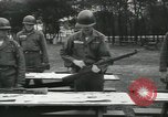 Image of Company E 1st Training Regiment trainees Fort Dix New Jersey USA, 1955, second 31 stock footage video 65675073546