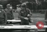 Image of Company E 1st Training Regiment trainees Fort Dix New Jersey USA, 1955, second 32 stock footage video 65675073546