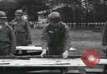 Image of Company E 1st Training Regiment trainees Fort Dix New Jersey USA, 1955, second 33 stock footage video 65675073546