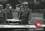 Image of Company E 1st Training Regiment trainees Fort Dix New Jersey USA, 1955, second 34 stock footage video 65675073546