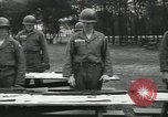 Image of Company E 1st Training Regiment trainees Fort Dix New Jersey USA, 1955, second 35 stock footage video 65675073546