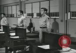 Image of Company E 1st Training Regiment trainees Fort Dix New Jersey USA, 1955, second 36 stock footage video 65675073546