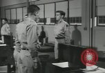 Image of Company E 1st Training Regiment trainees Fort Dix New Jersey USA, 1955, second 39 stock footage video 65675073546
