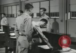 Image of Company E 1st Training Regiment trainees Fort Dix New Jersey USA, 1955, second 41 stock footage video 65675073546