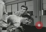 Image of Company E 1st Training Regiment trainees Fort Dix New Jersey USA, 1955, second 48 stock footage video 65675073546