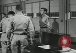 Image of Company E 1st Training Regiment trainees Fort Dix New Jersey USA, 1955, second 58 stock footage video 65675073546