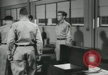 Image of Company E 1st Training Regiment trainees Fort Dix New Jersey USA, 1955, second 59 stock footage video 65675073546