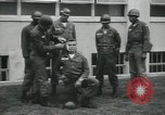 Image of Company E 1st Training Regiment trainees Fort Dix New Jersey USA, 1955, second 10 stock footage video 65675073548