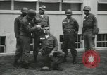 Image of Company E 1st Training Regiment trainees Fort Dix New Jersey USA, 1955, second 11 stock footage video 65675073548
