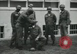 Image of Company E 1st Training Regiment trainees Fort Dix New Jersey USA, 1955, second 14 stock footage video 65675073548