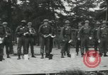Image of Company E 1st Training Regiment trainees Fort Dix New Jersey USA, 1955, second 16 stock footage video 65675073548