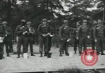 Image of Company E 1st Training Regiment trainees Fort Dix New Jersey USA, 1955, second 17 stock footage video 65675073548