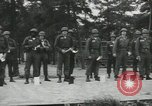 Image of Company E 1st Training Regiment trainees Fort Dix New Jersey USA, 1955, second 18 stock footage video 65675073548