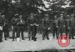 Image of Company E 1st Training Regiment trainees Fort Dix New Jersey USA, 1955, second 19 stock footage video 65675073548