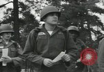 Image of Company E 1st Training Regiment trainees Fort Dix New Jersey USA, 1955, second 20 stock footage video 65675073548