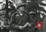 Image of Company E 1st Training Regiment trainees Fort Dix New Jersey USA, 1955, second 21 stock footage video 65675073548