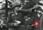 Image of Company E 1st Training Regiment trainees Fort Dix New Jersey USA, 1955, second 22 stock footage video 65675073548