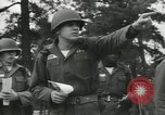 Image of Company E 1st Training Regiment trainees Fort Dix New Jersey USA, 1955, second 23 stock footage video 65675073548