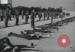 Image of Company E 1st Training Regiment trainees Fort Dix New Jersey USA, 1955, second 33 stock footage video 65675073548