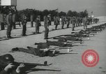 Image of Company E 1st Training Regiment trainees Fort Dix New Jersey USA, 1955, second 34 stock footage video 65675073548