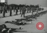 Image of Company E 1st Training Regiment trainees Fort Dix New Jersey USA, 1955, second 35 stock footage video 65675073548
