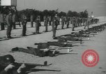 Image of Company E 1st Training Regiment trainees Fort Dix New Jersey USA, 1955, second 36 stock footage video 65675073548