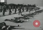 Image of Company E 1st Training Regiment trainees Fort Dix New Jersey USA, 1955, second 37 stock footage video 65675073548