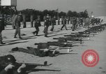 Image of Company E 1st Training Regiment trainees Fort Dix New Jersey USA, 1955, second 38 stock footage video 65675073548