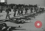 Image of Company E 1st Training Regiment trainees Fort Dix New Jersey USA, 1955, second 39 stock footage video 65675073548