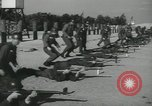 Image of Company E 1st Training Regiment trainees Fort Dix New Jersey USA, 1955, second 40 stock footage video 65675073548