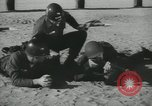 Image of Company E 1st Training Regiment trainees Fort Dix New Jersey USA, 1955, second 47 stock footage video 65675073548