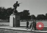 Image of Company E 1st Training Regiment Fort Dix New Jersey USA, 1955, second 5 stock footage video 65675073550