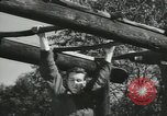 Image of Company E 1st Training Regiment Fort Dix New Jersey USA, 1955, second 32 stock footage video 65675073550