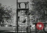 Image of Company E 1st Training Regiment Fort Dix New Jersey USA, 1955, second 37 stock footage video 65675073550
