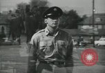 Image of graduation day New Jersey Fort Dix USA, 1955, second 1 stock footage video 65675073551
