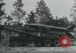 Image of United States Army tests various tactical missiles United States USA, 1955, second 12 stock footage video 65675073563