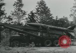 Image of United States Army tests various tactical missiles United States USA, 1955, second 14 stock footage video 65675073563
