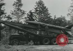 Image of United States Army tests various tactical missiles United States USA, 1955, second 16 stock footage video 65675073563
