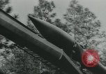 Image of United States Army tests various tactical missiles United States USA, 1955, second 23 stock footage video 65675073563